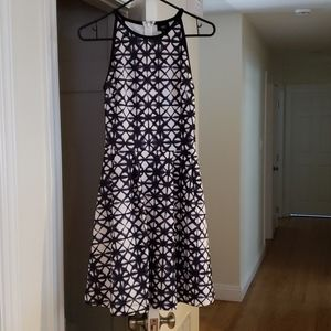 Mossimo black and white XS dress